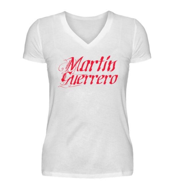 Martin Guerrero Latino Girlie Vneck - V-Neck Damenshirt-3
