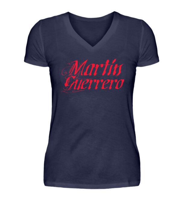 Martin Guerrero Latino Girlie Vneck - V-Neck Damenshirt-198