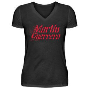 Martin Guerrero Latino Girlie Vneck - V-Neck Damenshirt-16