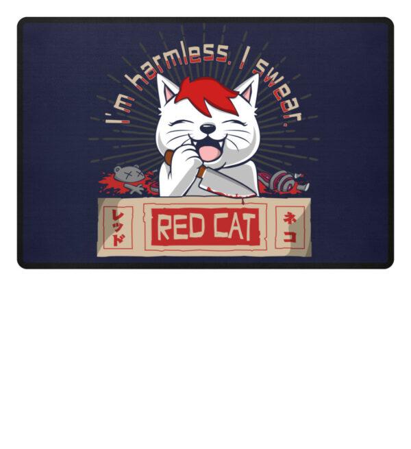 Red Cat Harmless Fußmatte - Fußmatte-198
