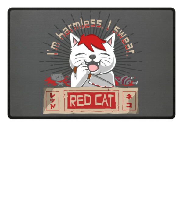 Red Cat Harmless Fußmatte - Fußmatte-6778