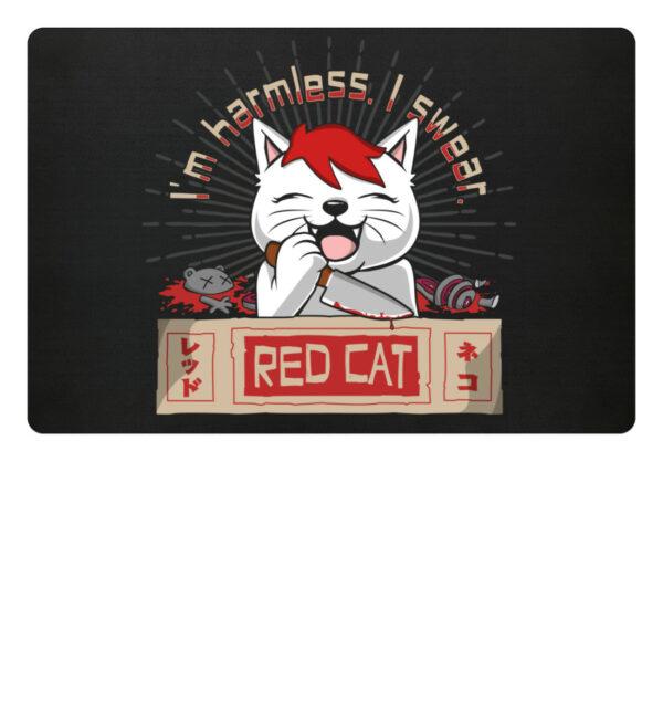Red Cat Harmless Fußmatte - Fußmatte-16