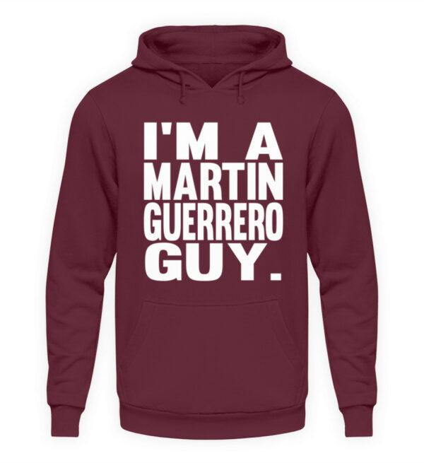 Martin Guerrero Guy - Unisex Kapuzenpullover Hoodie-839