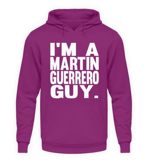 Martin Guerrero Guy - Unisex Kapuzenpullover Hoodie-1658