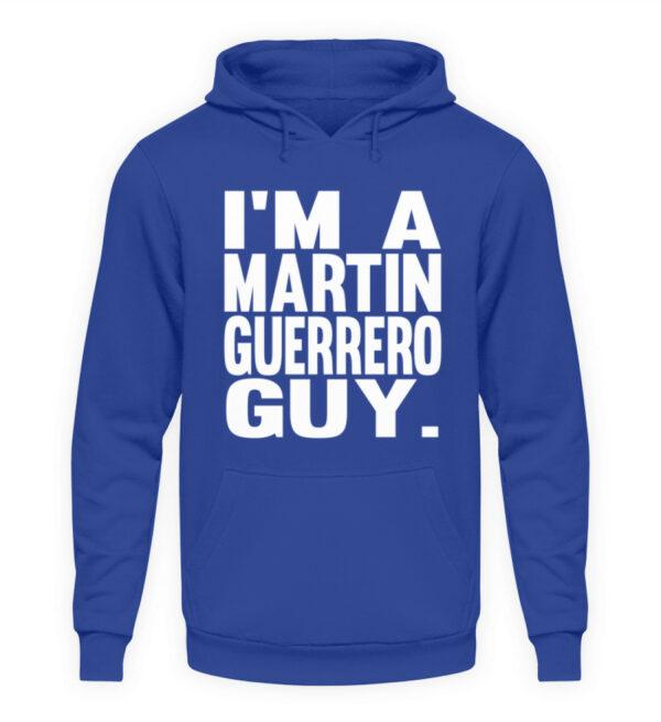 Martin Guerrero Guy - Unisex Kapuzenpullover Hoodie-668