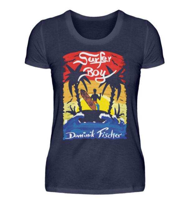 Dominik Fischer Surfer Girlie - Damenshirt-198