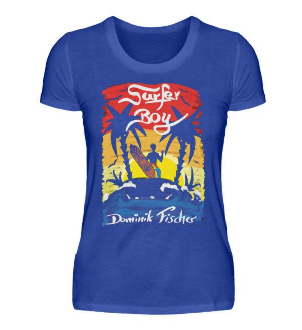 Dominik Fischer Surfer Girlie - Damenshirt-2496