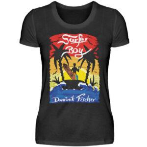 Dominik Fischer Surfer Girlie - Damenshirt-16
