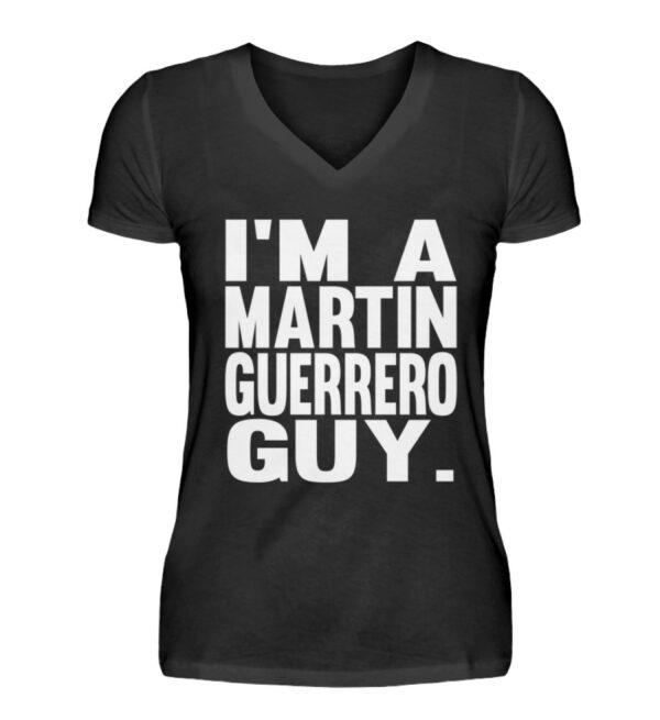Martin Guerrero Guy Girlie Vneck - V-Neck Damenshirt-16