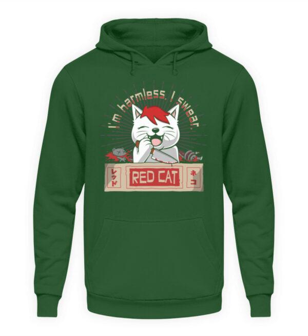 Red Cat Harmless Hoodie - Unisex Kapuzenpullover Hoodie-833