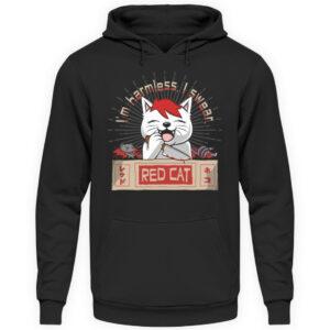 Red Cat Harmless Hoodie - Unisex Kapuzenpullover Hoodie-1624