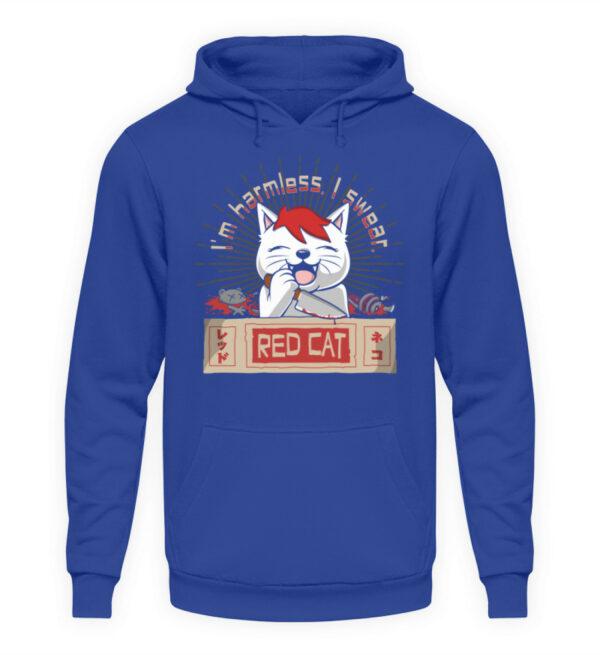 Red Cat Harmless Hoodie - Unisex Kapuzenpullover Hoodie-668