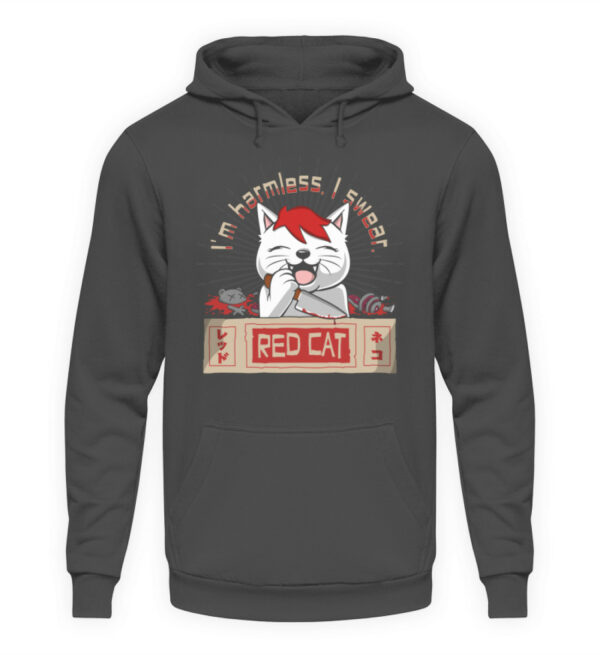 Red Cat Harmless Hoodie - Unisex Kapuzenpullover Hoodie-1762