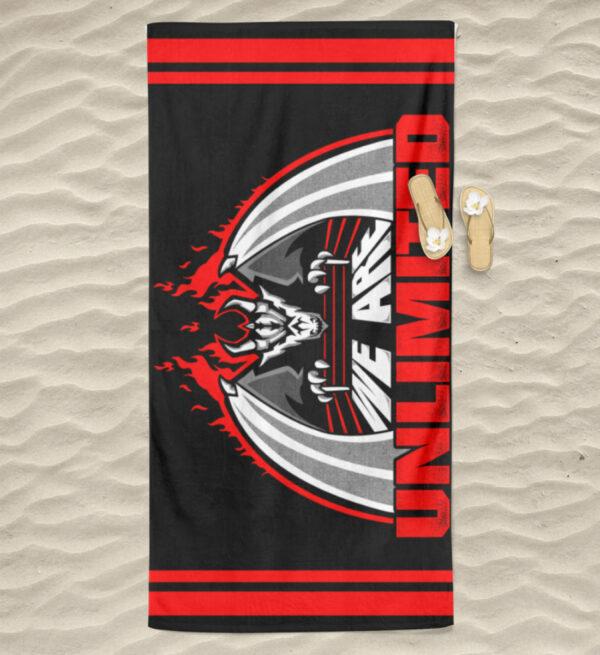 Unlimited Dragon Handtuch - Hochwertiges Badetuch-3