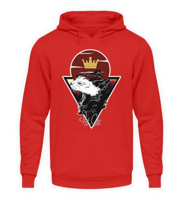 Red Cat Logo Hoodie - Unisex Kapuzenpullover Hoodie-1565