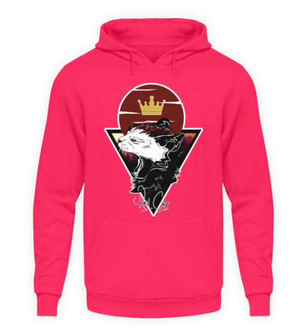 Red Cat Logo Hoodie - Unisex Kapuzenpullover Hoodie-1610