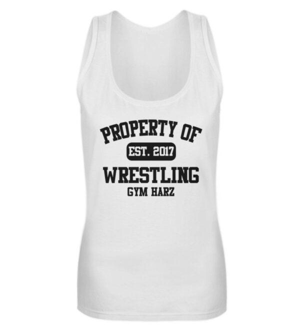 Property Wrestling Gym Girlie Tanktop - Frauen Tanktop-3