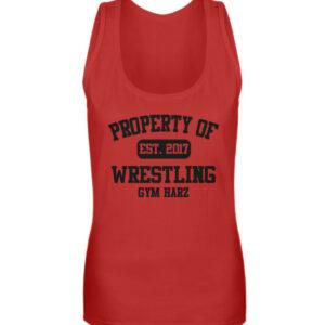 Property Wrestling Gym Girlie Tanktop - Frauen Tanktop-4