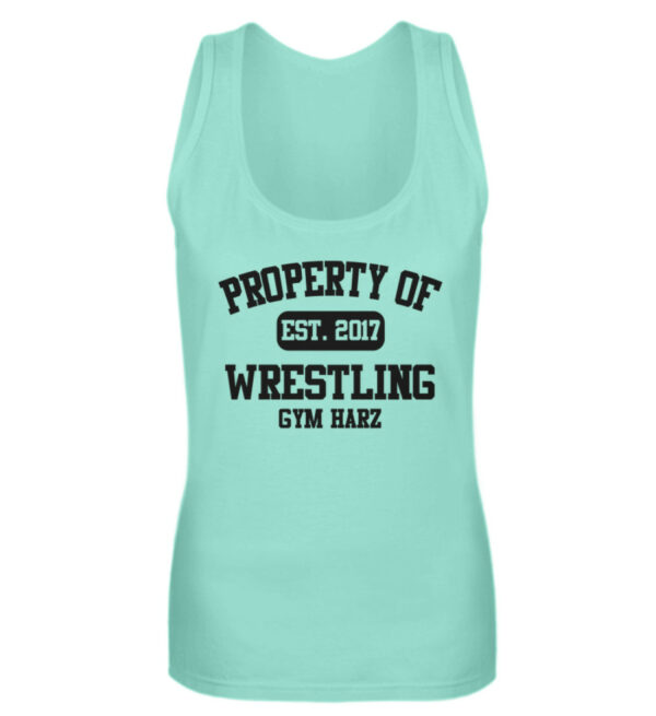 Property Wrestling Gym Girlie Tanktop - Frauen Tanktop-657