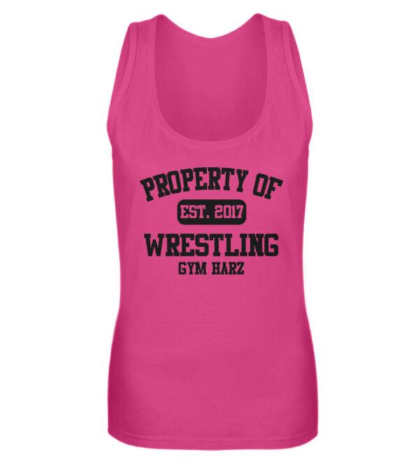 Property Wrestling Gym Girlie Tanktop - Frauen Tanktop-28