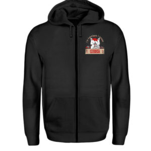 Red Cat Harmless Zipper - Zip-Hoodie-16