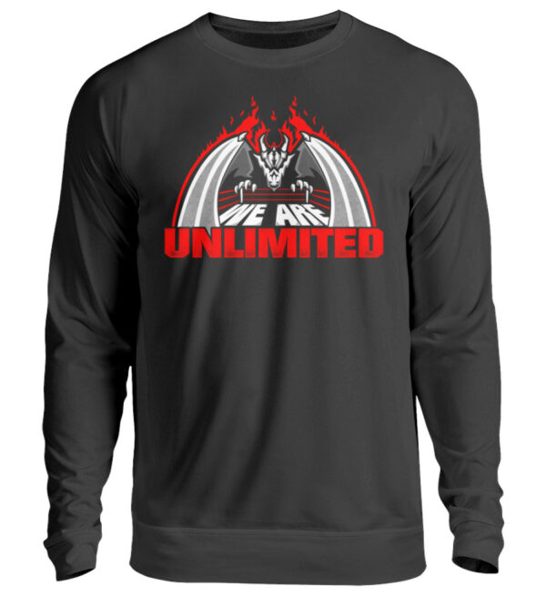 Unlimited Dragon Sweatshirt - Unisex Pullover-1624