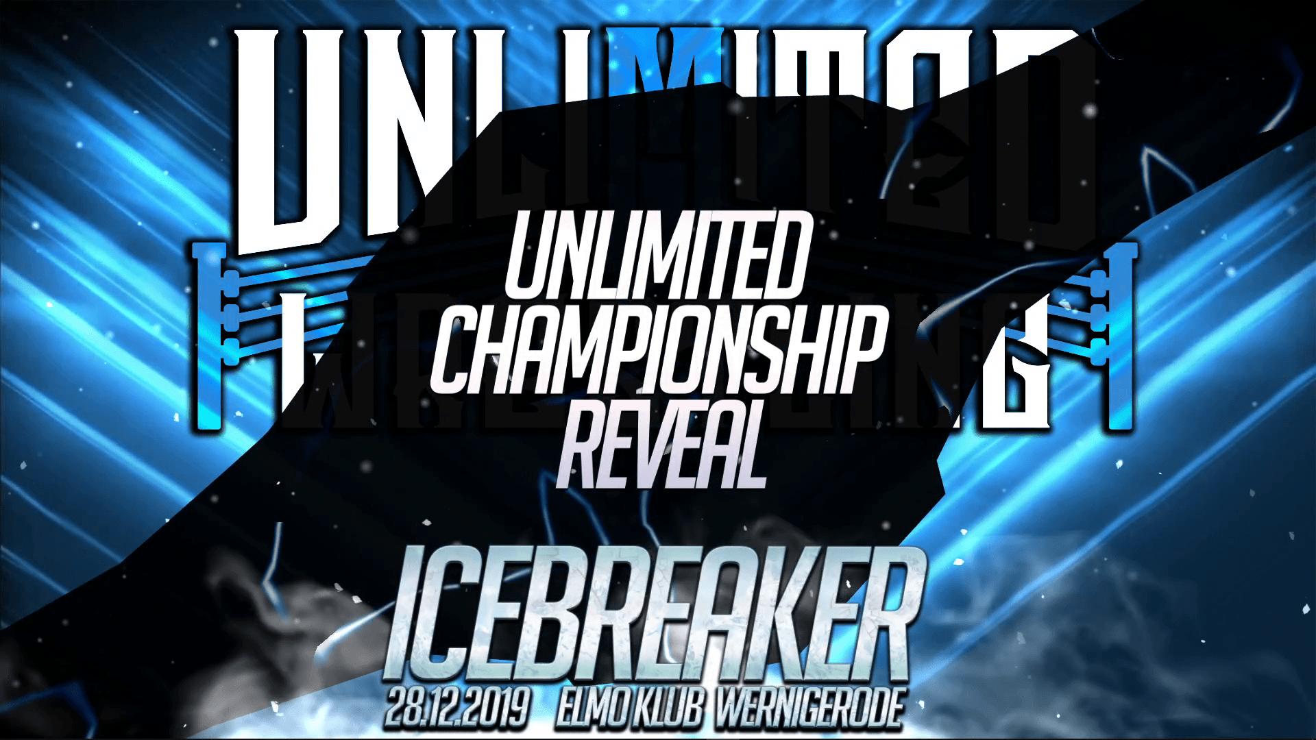 Reveal des Unlimited Championship Titelgürtels