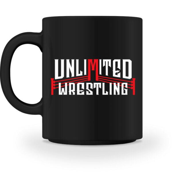 Unlimited Wrestling Logo Tasse - Tasse-16