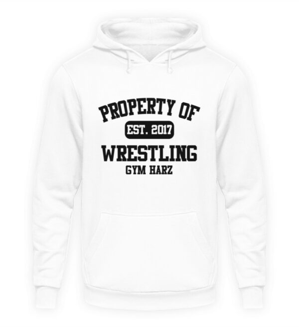 Property Wrestling Gym Hoodie - Unisex Kapuzenpullover Hoodie-1478