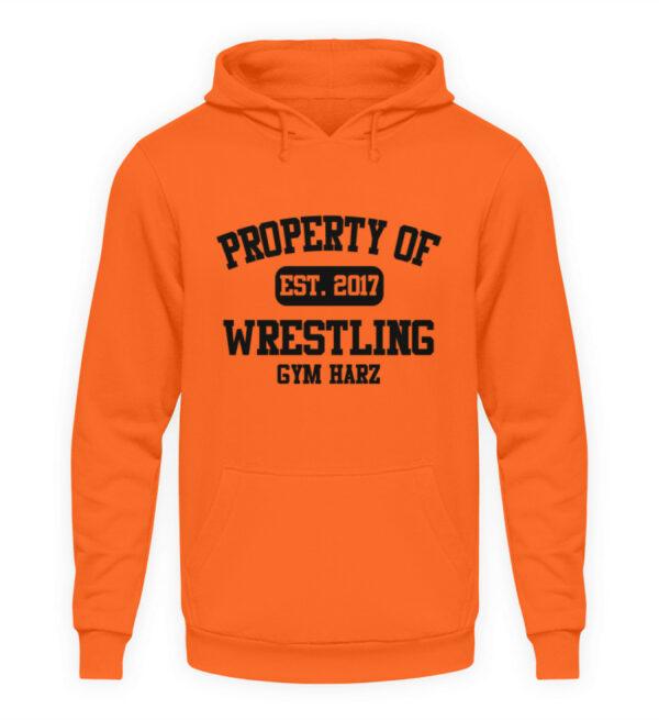Property Wrestling Gym Hoodie - Unisex Kapuzenpullover Hoodie-1692