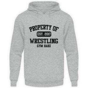 Property Wrestling Gym Hoodie - Unisex Kapuzenpullover Hoodie-6807