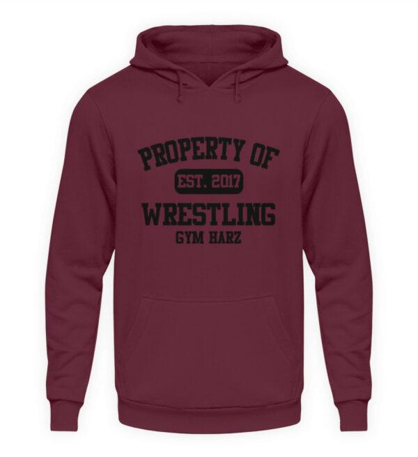 Property Wrestling Gym Hoodie - Unisex Kapuzenpullover Hoodie-839