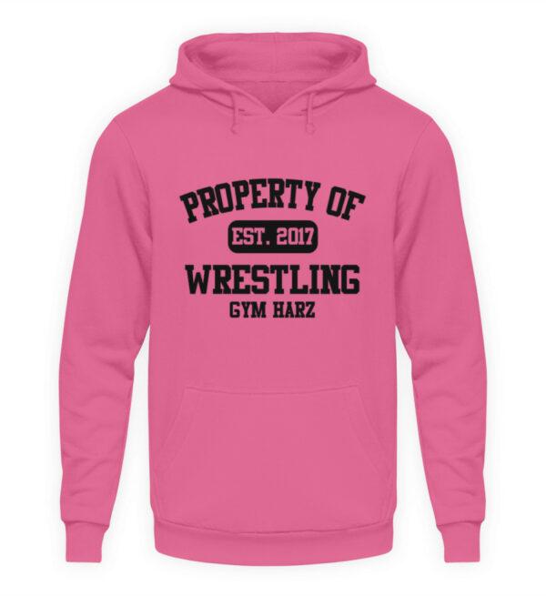 Property Wrestling Gym Hoodie - Unisex Kapuzenpullover Hoodie-1521