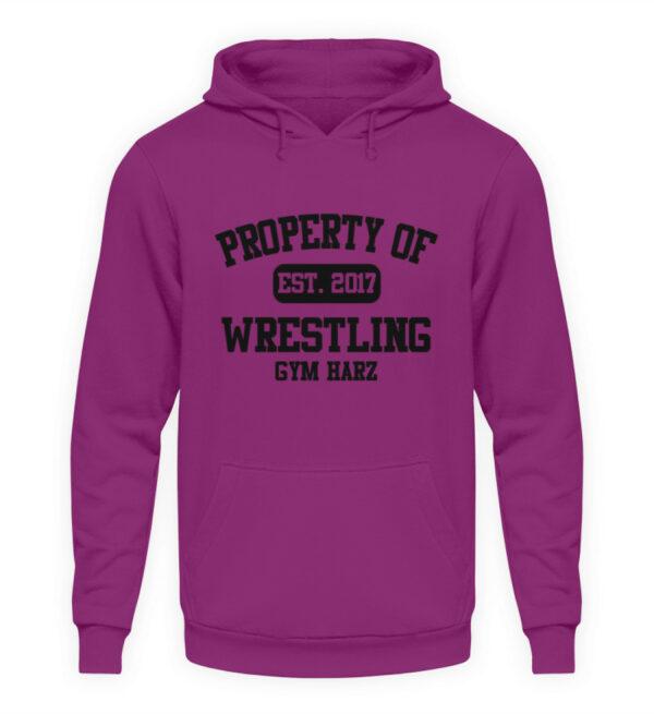 Property Wrestling Gym Hoodie - Unisex Kapuzenpullover Hoodie-1658