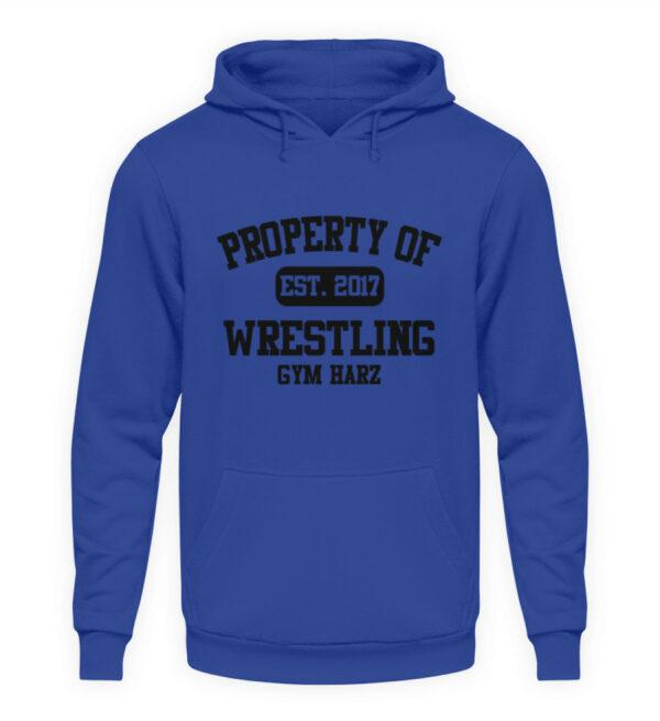 Property Wrestling Gym Hoodie - Unisex Kapuzenpullover Hoodie-668
