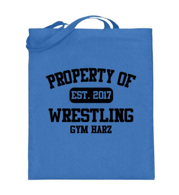 Property Wrestling Gym Harz - Jutebeutel (mit langen Henkeln)-5739