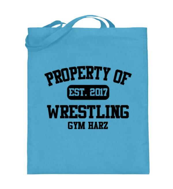 Property Wrestling Gym Harz - Jutebeutel (mit langen Henkeln)-5745
