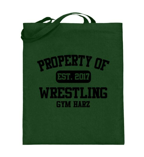 Property Wrestling Gym Harz - Jutebeutel (mit langen Henkeln)-5741