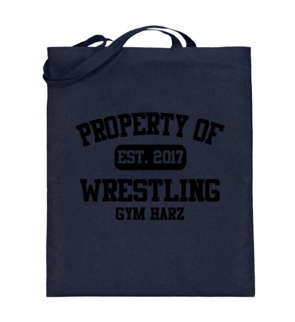 Property Wrestling Gym Harz - Jutebeutel (mit langen Henkeln)-5743