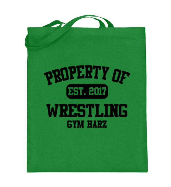 Property Wrestling Gym Harz - Jutebeutel (mit langen Henkeln)-5747