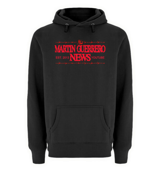 Martin Guerrero News - Unisex Premium Kapuzenpullover-16