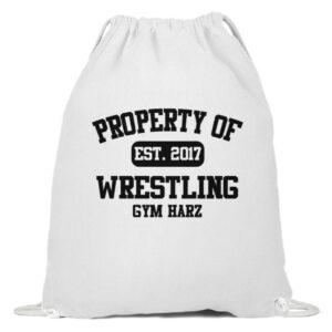 Property Wrestling Gym Harz - Baumwoll Gymsac-3