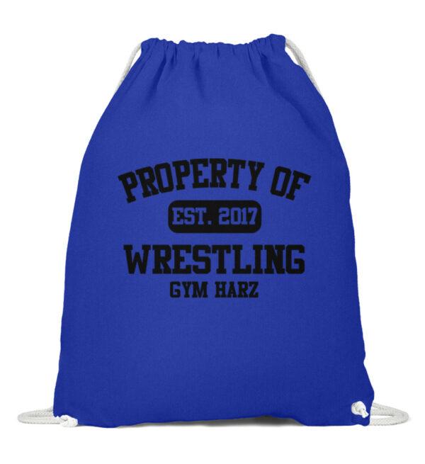 Property Wrestling Gym Harz - Baumwoll Gymsac-6232