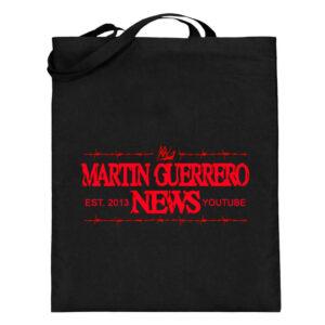 Martin Guerrero News - Jutebeutel (mit langen Henkeln)-16