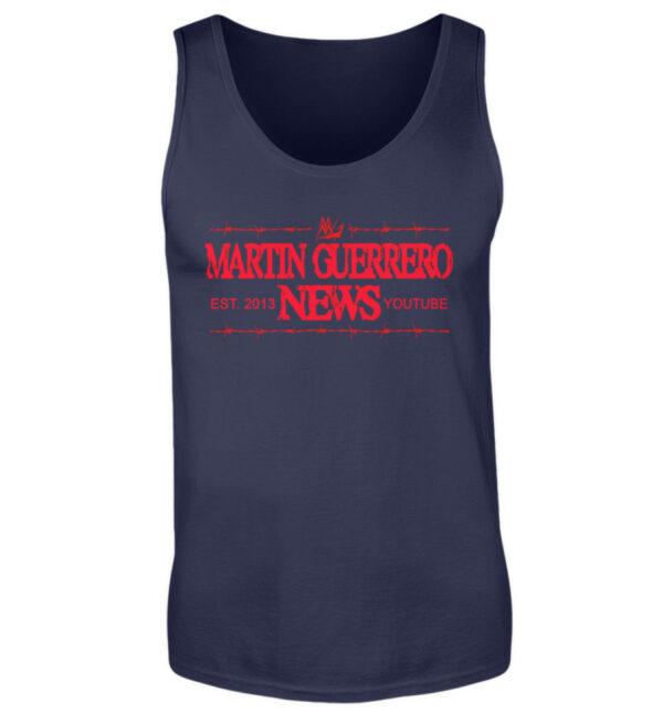 Martin Guerrero News Tank-Top - Herren Tanktop-198