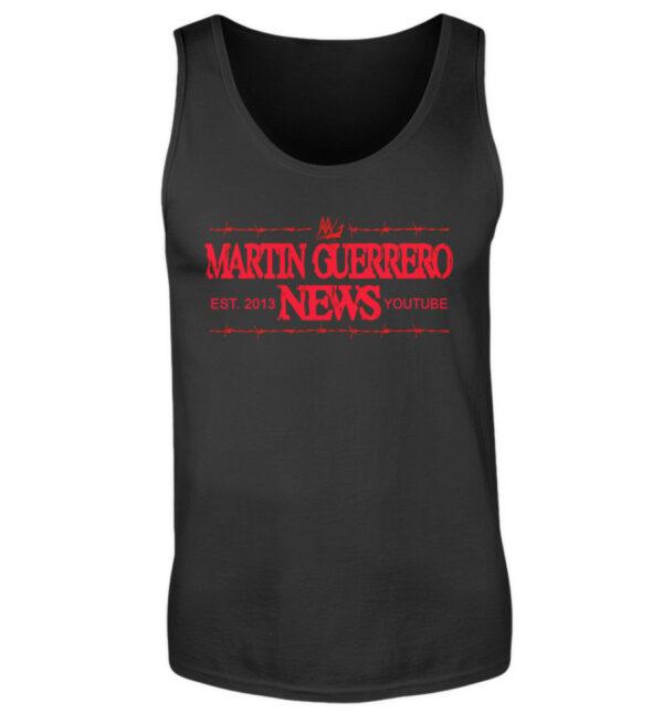 Martin Guerrero News Tank-Top - Herren Tanktop-16