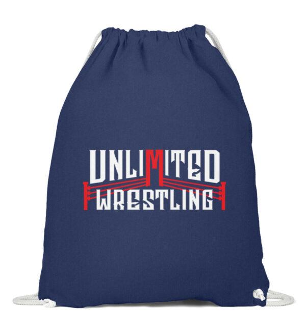 Unlimited Wrestling Logo Gymsac - Baumwoll Gymsac-6057