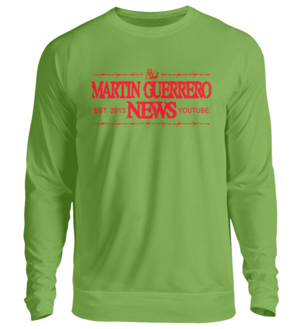 Martin Guerrero News Sweatshirt - Unisex Pullover-1646