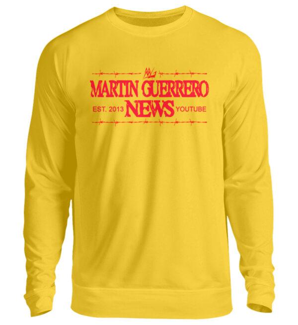 Martin Guerrero News Sweatshirt - Unisex Pullover-1774