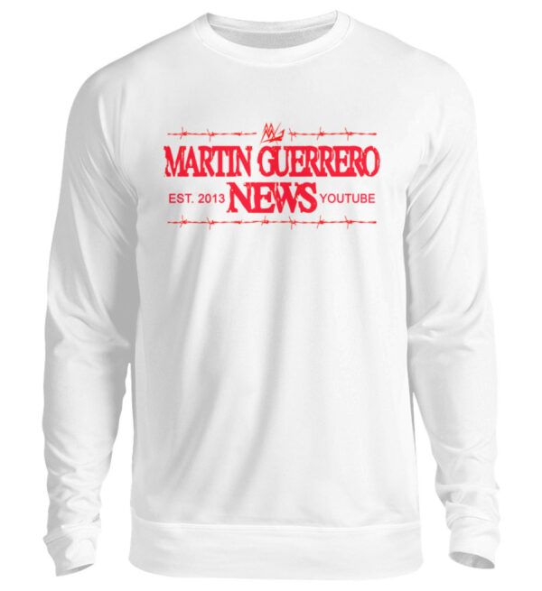 Martin Guerrero News Sweatshirt - Unisex Pullover-1478